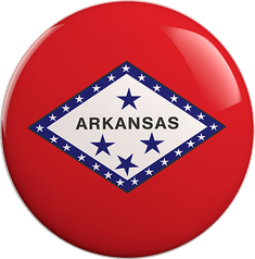 State Vote Button from Arkansas