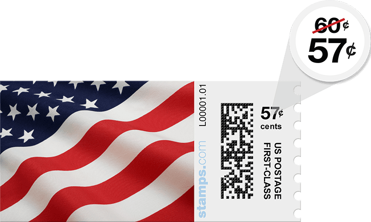 Stamps com - USPS Metered Mail, First Class Stamp Discount