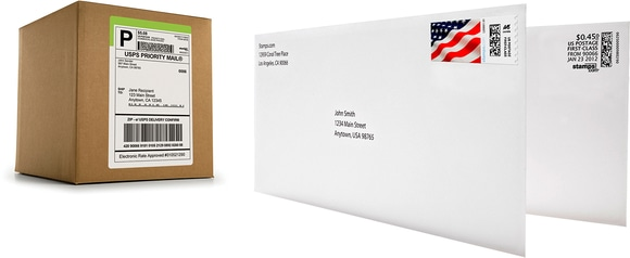 Print postage usps online postage Which side does a stamp go on