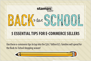 E-Commerce Tips for Back-to-School Selling Infographic