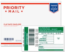 USPS Priority Mail tracking included?