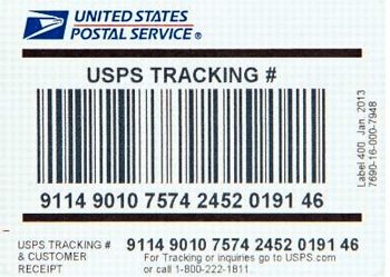 The tracking number appears in a few different places, but losing the number can also mean losing the ability to check on the package's delivery. Finding the Tracking Number Package senders will find the USPS tracking number either on the label or receipt, depending on the mail class selected.