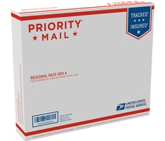 Priority Mail Regional Rate Box A - Side Loading