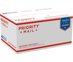 Priority Mail Regional Rate Box A - Top Loading