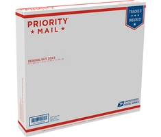 Priority Mail Regional Rate Box B - Side Loading