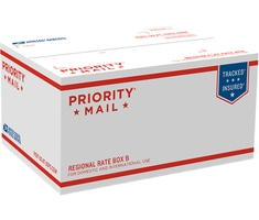 Priority Mail Regional Rate Box B - Top Loading