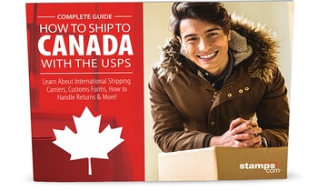 Image of the free guide for How to Ship to Canada With The USPS.