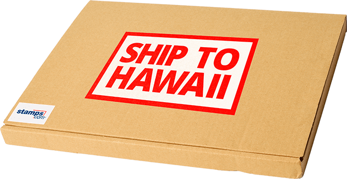 Stamps com - Shipping to Hawaii