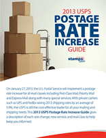 Ultimate Guide to the 2013 USPS Postage Rate Increase