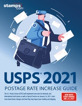 2021 USPS Postage Rate Increase Guide