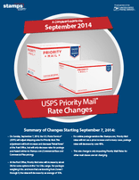 Click here to download the Complete Guide: September 2014 Priority Mail Rate Changes