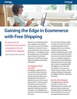 Gaining the Edge in E-commerce with Free Shipping