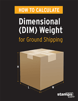 Click here for the How To Calculate Dimensional (DIM) Weight Guide