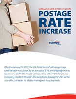 Ultimate Guide to the 2012 USPS Postage Rate Increase